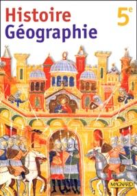 Histoire Geographie 5eme Broche