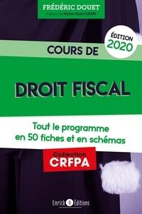 Amazon livres télécharger Cours de droit fiscal par Frédéric Douet 9782356444110 RTF iBook en francais