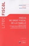 Frédéric Douet - Précis de droit fiscal de la famille - Impôt sur le revenu ; Optimisation fiscale du patrimoine familial ; Mariage, divorce, PACS, concubinage ; Droits de donation et de succession ; ISF.