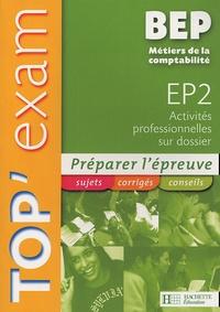 Histoiresdenlire.be Top'Exam EP2 Activités professionnelles sur dossier BEP Métiers de la comptabilité Image