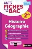 Frédéric Fouletier et Pascal Jézéquel - Histoire Géographie 2de.