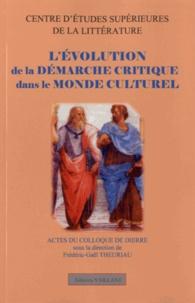 Frédéric-Gaël Theuriau - L'évolution de la démarche critique dans le monde culturel.