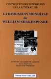 Frédéric-Gaël Theuriau - La dimension mondiale de William Shakespeare.