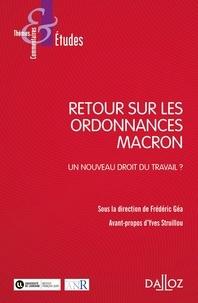 Frédéric Géa - Retour sur les ordonnances Macron - Un nouveau droit du travail ?.