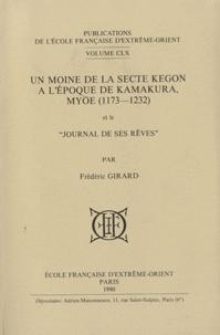 Deedr.fr Un Moine de la secte Kegon à l'époque de Kamakura, Myôe (1173-1232) et le Journal de ses rêves Image
