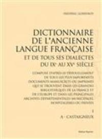 Deedr.fr Dictionnaire de l'ancienne langue française et de tous ses dialectes du IXe au XVe siècle - 10 volumes Image