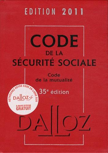 Frédéric Guiomard et Anne-Sophie Ginon - Code de la sécurité sociale et Code de la mutualité.