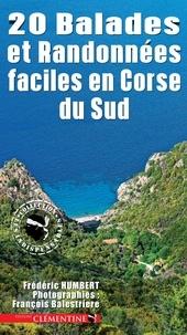 Frédéric Humbert - 20 balades et randonnées faciles en Corse du Sud.