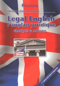 Histoiresdenlire.be Legal English - L'anglais juridique Image