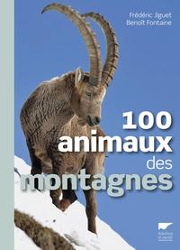 Frédéric Jiguet et Benoît Fontaine - 100 animaux des montagnes.