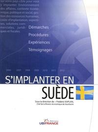 Guillaume Aubron et Frédéric Kaplan - S'implanter en Suède.