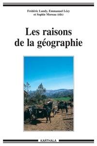 Frédéric Landy - Les raisons de la géographie - Itinéraires au sud avec Jean-Pierre Raison.