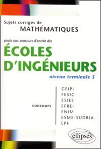 Coachingcorona.ch Sujets corrigés de mathématiques posés aux concours d'entrée des écoles d'ingénieurs niveau terminale S Image