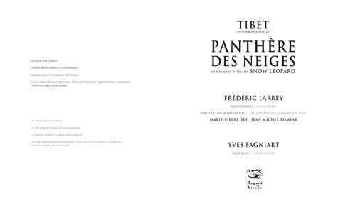 Tibet, en harmonie avec la panthère des neiges