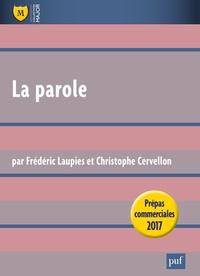 La parole - Prépas commerciales 2017.pdf