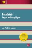 Frédéric Laupies - Le plaisir - Leçon philosophie.