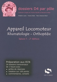 Frédéric Lavie et Franck Atlan - Appareil locomoteur - Rhumatologie - Orthopédie.
