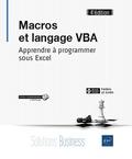 Frédéric Le Guen - Macros et langage VBA - Apprendre à programmer sous Excel.