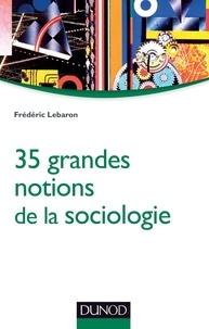 Frédéric Lebaron - 35 grandes notions de la sociologie.