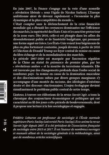 Savoir et agir. Chroniques de conjoncture (2007-2020)