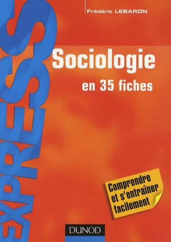 Frédéric Lebaron - Sociologie.