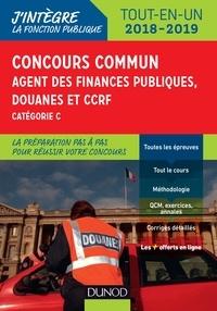 Frédéric Lephay et Pierre Siroteau - Concours commun Agent des finances publiques, douanes et CCRF - Tout-en-un.