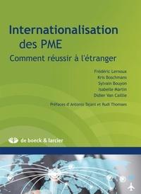 Frédéric Lernoux et Kris Boschmans - Internationalisation des PME - Comment réussir à l'étranger.