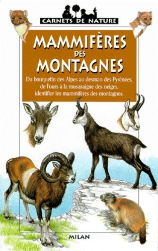 Frédéric Lisak - Mammifères des montagnes.