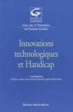 Frédéric Lofaso et Jean-Marie André - Innovations technologiques et handicap.