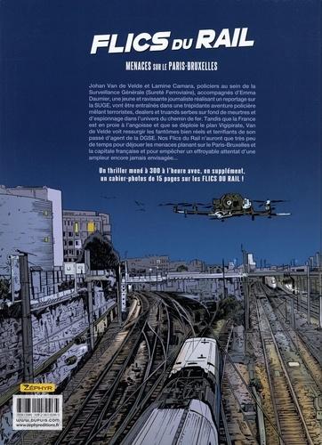 Flics du rail. Menaces sur le Paris-Bruxelles