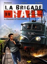 Frédéric Marniquet et Olivier Jolivet - La brigade du rail Tome 4 : L'inconnue du Paris-Marseille - Avec un ex-libris numéroté et signé.