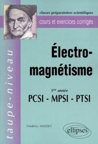 ELECTRO-MAGNETISME 1ERE ANNEE PCSI-MPSI-PTSI. Cours et exercices corrigés.pdf