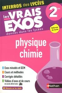 Frédéric Masset - Physique-chimie 2de - Les vrais exos donnés dans les lycées.