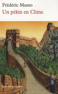 Frédéric Musso - Un pékin en Chine.