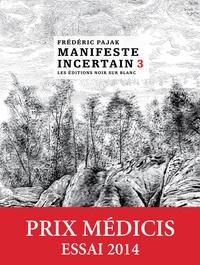 Frédéric Pajak - Manifeste incertain Volume 3 : La mort de Walter Benjamin - Ezra Pound mis en cage.