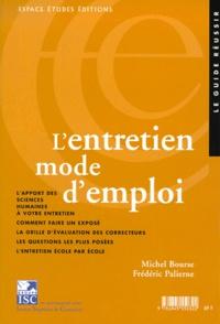 7L'entretien mode d'emploi. 7ème édition - Frédéric Palierne | Showmesound.org