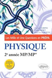 Téléchargement gratuit de manuels scolaires Les Mille et Une questions de la physique en prépa 2e année MP/MP*