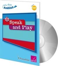 Frédéric Pérez et Jean-Marc Furgerot - Speak and Play CM1 - L'anglais pour la classe. 1 Cédérom
