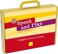 Frédéric Pérez - Speak and Play CM2 Cycle 3 Niveau 1, 2 et 3 - L'anglais pour la classe. 1 CD audio