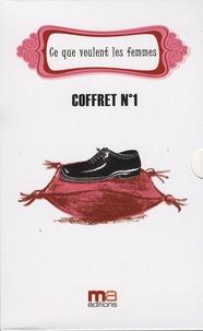 Frédéric Ploton et  Papaya - Ce que veulent les femmes - Coffret n°1 en 3 volumes : Tome 1, Le nouveau dictionnaire amoureux ; Tome 2, O mon prince charmant ; Tome 3, N'oublions pas les préliminaires.
