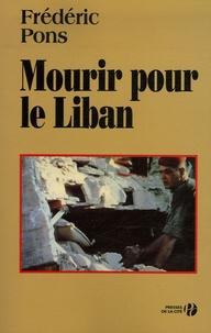Mourir pour le Liban.pdf