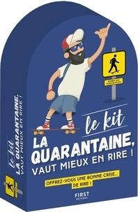 Frédéric Pouhier et François Jouffa - Kit la quarantaine, mieux vaut en rire !.