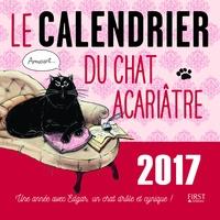 Télécharger des ebooks gratuits Android Le calendrier du chat acariâtre 2017  - Une année avec Edgar, un chat drôle et cynique ! 9782754088602 RTF PDB in French par Frédéric Pouhier, Susie Jouffa