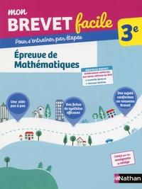 Frédéric Puigrédo - Epreuve de Mathématiques 3e.