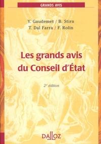 Goodtastepolice.fr Les grands avis du Conseil d'Etat. 2ème édition 2002 Image