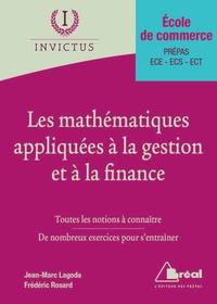 Les mathématiques appliquées à la gestion et à la finance - Frédéric Rosard |