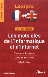 Frédéric Rosard - Les mots clés de l'informatique et d'Internet.