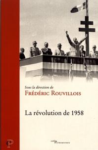 Télécharger gratuitement les livres La révolution de 1958