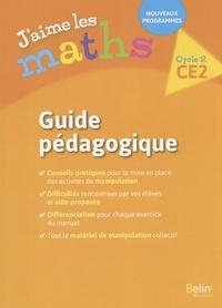 Frédéric Rzanny et Marie-Pierre Sadlocha - J'aime les maths CE2 cycle 2 - Guide pédagogique.