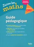 Frédéric Rzanny et Sophie Bourreau - J'aime les maths CM2 - Guide pédagogique.
